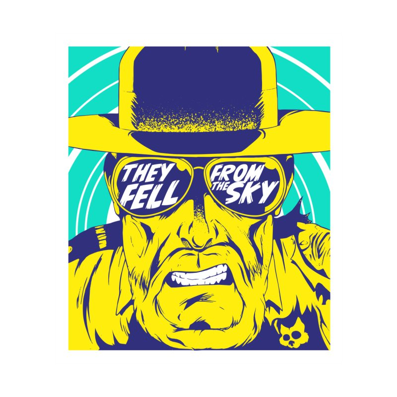 They Fell From The Sky Home Shower Curtain by Mad Cave Studios's Artist Shop
