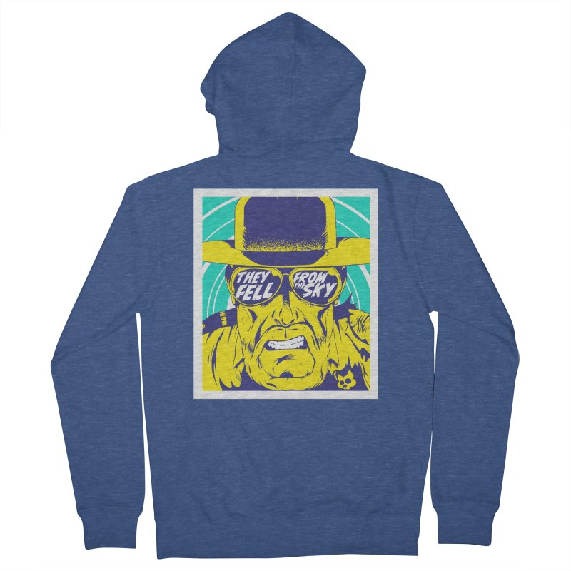 They Fell From The Sky Men's Zip-Up Hoody by Mad Cave Studios's Artist Shop