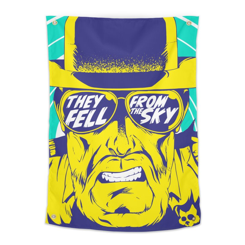 They Fell From The Sky Home Tapestry by Mad Cave Studios's Artist Shop