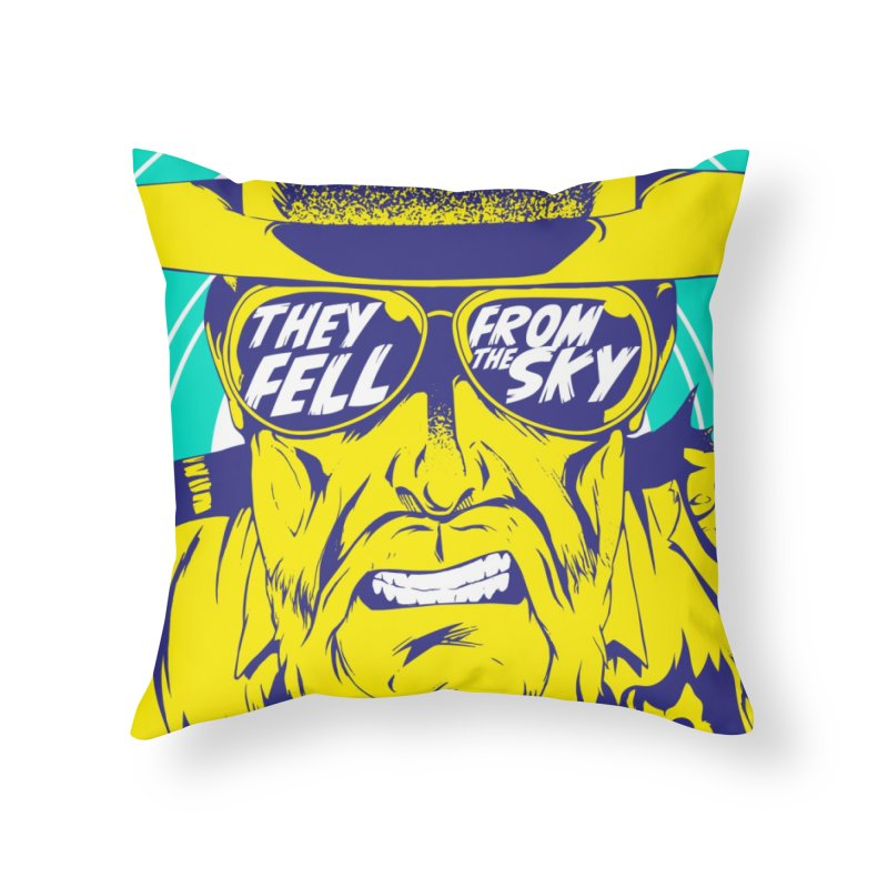 They Fell From The Sky Home Throw Pillow by Mad Cave Studios's Artist Shop