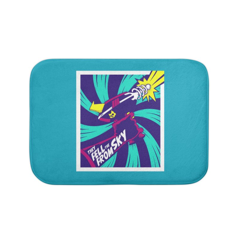 They Fell From The Sky Home Bath Mat by Mad Cave Studios's Artist Shop