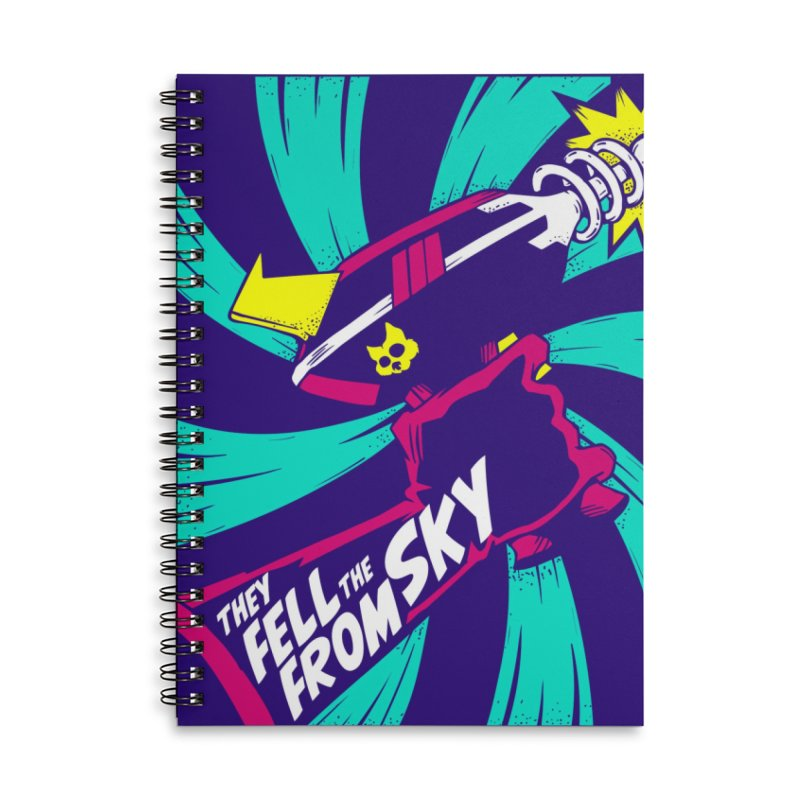They Fell From The Sky Accessories Notebook by Mad Cave Studios's Artist Shop