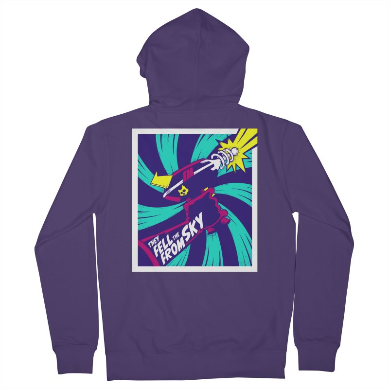 They Fell From The Sky Women's Zip-Up Hoody by Mad Cave Studios's Artist Shop