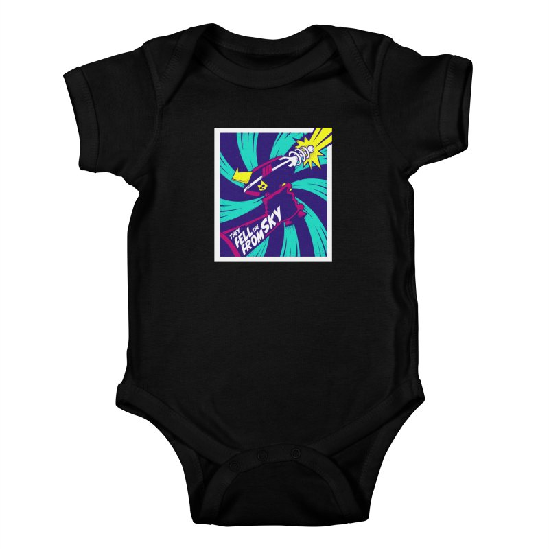 They Fell From The Sky Kids Baby Bodysuit by Mad Cave Studios's Artist Shop