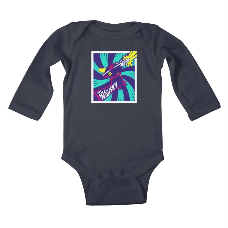 They Fell From The Sky Kids Baby Longsleeve Bodysuit by Mad Cave Studios's Artist Shop