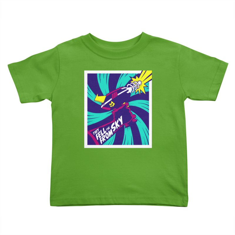 They Fell From The Sky Kids Toddler T-Shirt by Mad Cave Studios's Artist Shop