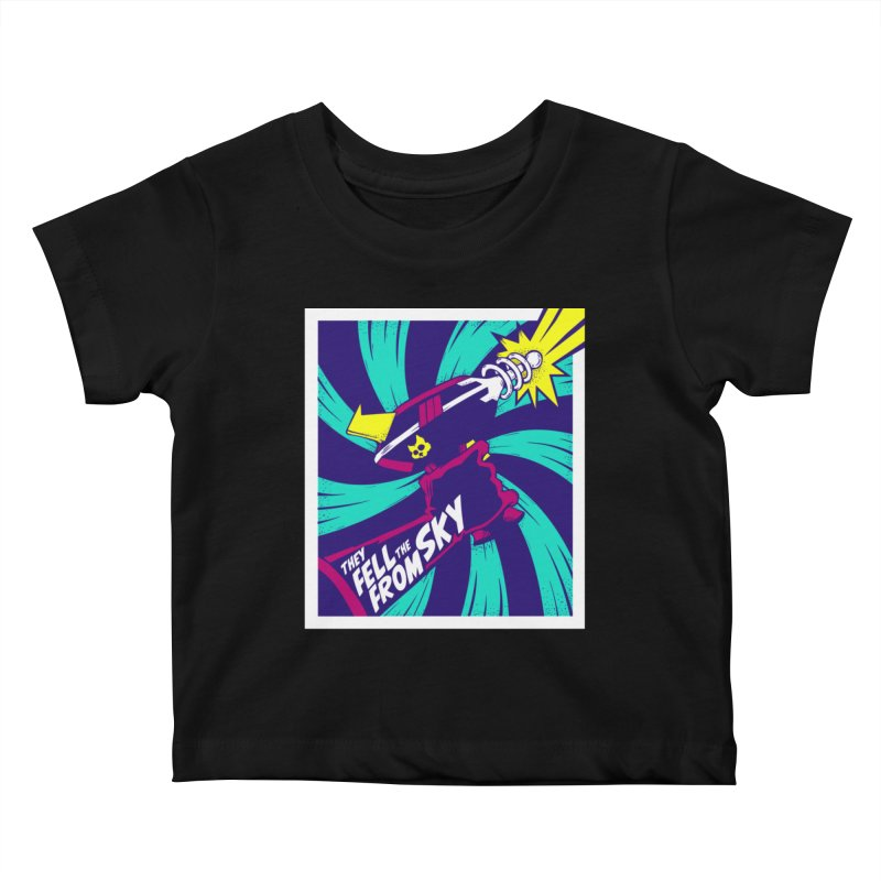 They Fell From The Sky Kids Baby T-Shirt by Mad Cave Studios's Artist Shop
