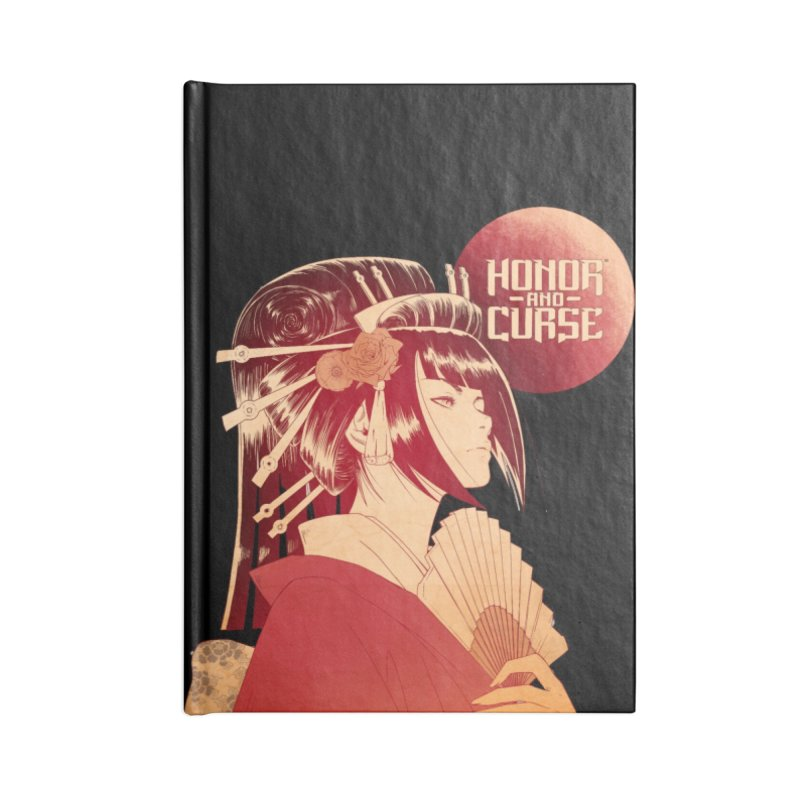 Lady Akemi - Iga Clan Accessories Notebook by Mad Cave Studios's Artist Shop