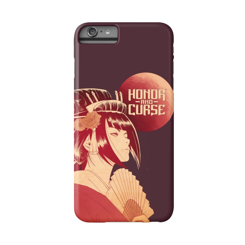 Lady Akemi - Iga Clan Accessories Phone Case by Mad Cave Studios's Artist Shop