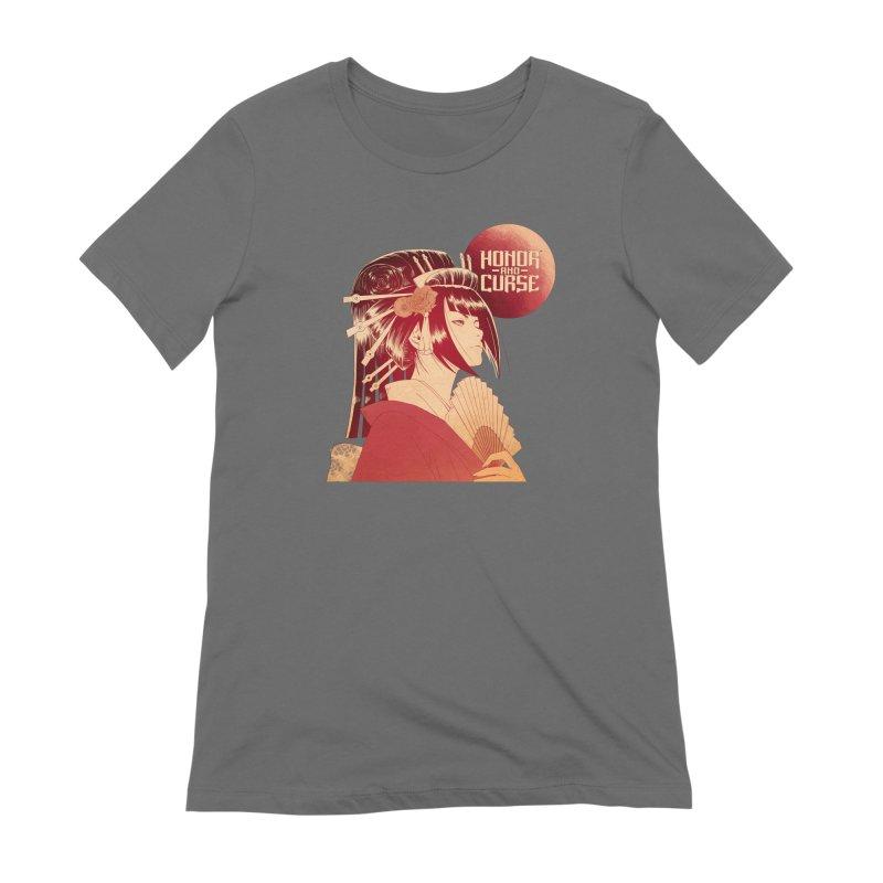 Lady Akemi - Iga Clan Women's T-Shirt by Mad Cave Studios's Artist Shop