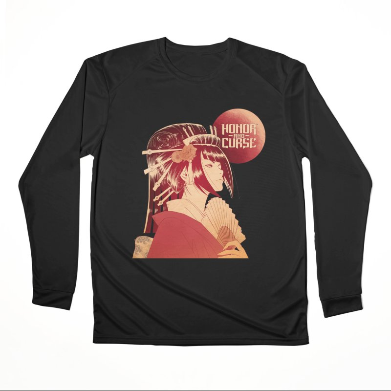 Lady Akemi - Iga Clan Men's Longsleeve T-Shirt by Mad Cave Studios's Artist Shop