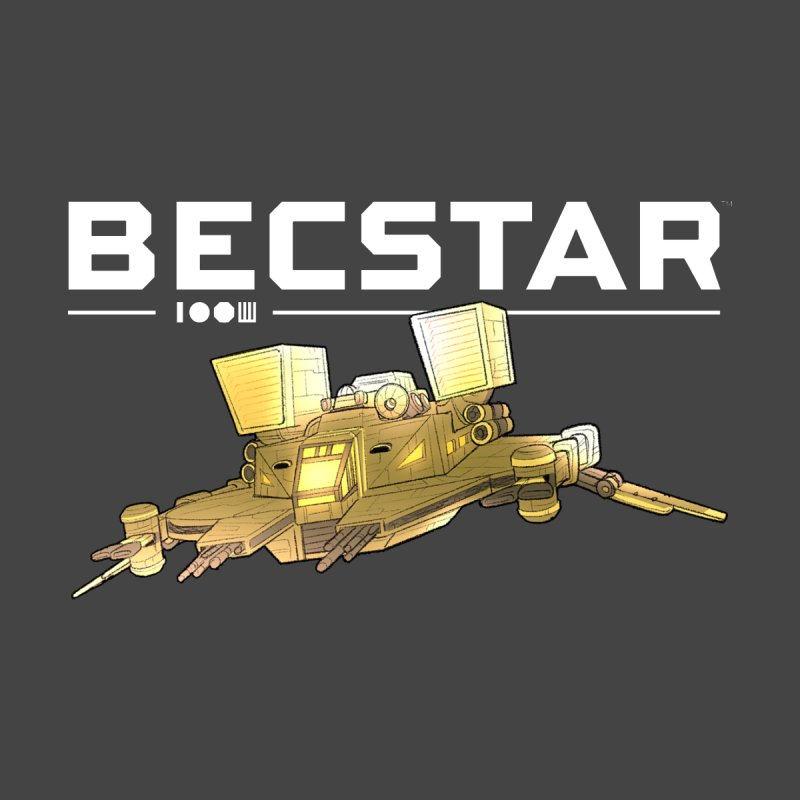 Becstar - Spaceship Women's Zip-Up Hoody by Mad Cave Studios's Artist Shop