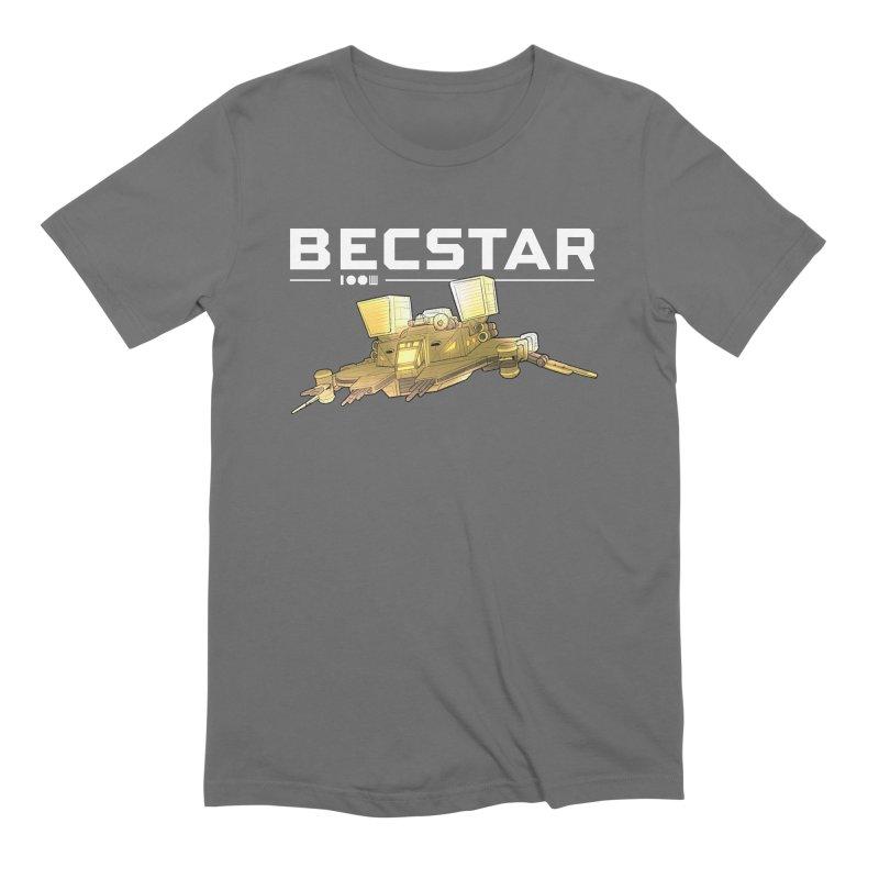 Becstar - Spaceship Men's T-Shirt by Mad Cave Studios's Artist Shop