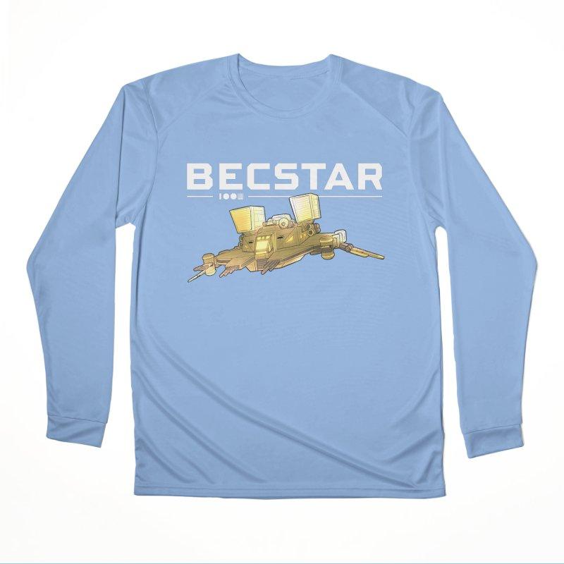 Becstar - Spaceship Men's Longsleeve T-Shirt by Mad Cave Studios's Artist Shop