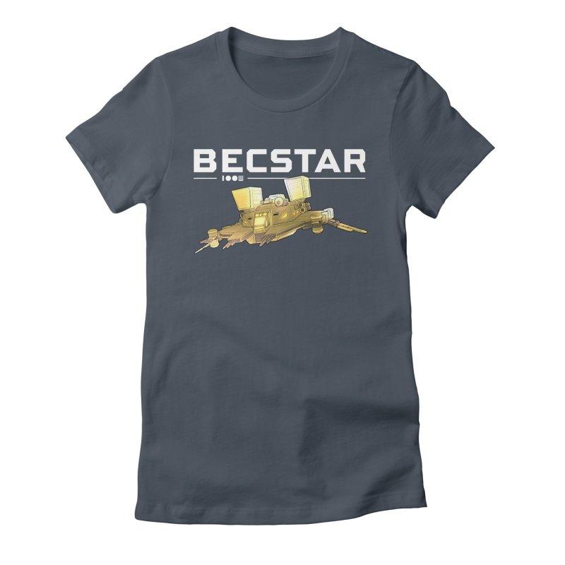 Becstar - Spaceship Women's T-Shirt by Mad Cave Studios's Artist Shop