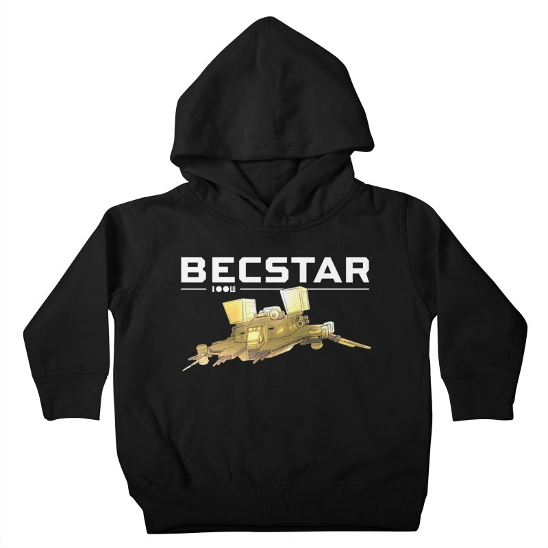 Becstar - Spaceship Kids Toddler Pullover Hoody by Mad Cave Studios's Artist Shop