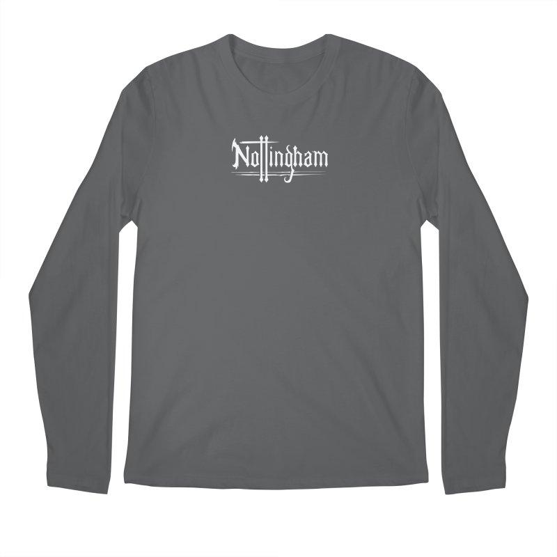 Nottingham Men's Longsleeve T-Shirt by Mad Cave Studios's Artist Shop