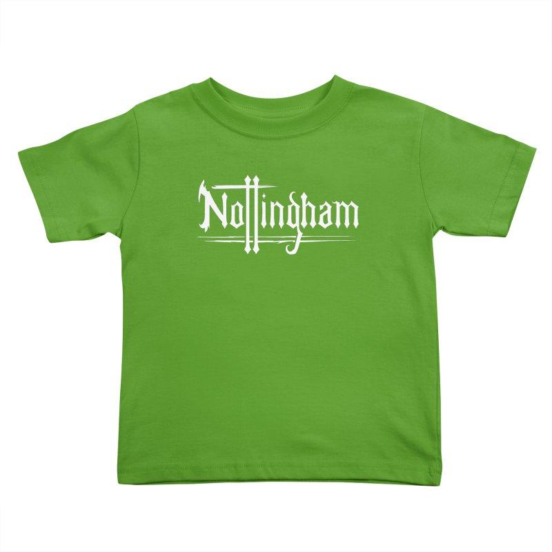 Nottingham Kids Toddler T-Shirt by Mad Cave Studios's Artist Shop