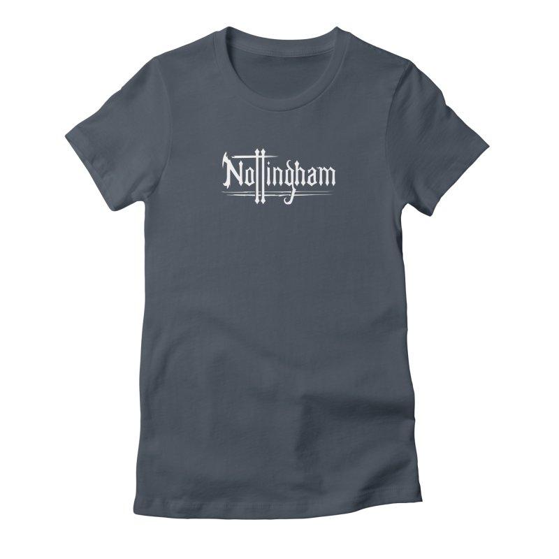 Nottingham Women's T-Shirt by Mad Cave Studios's Artist Shop