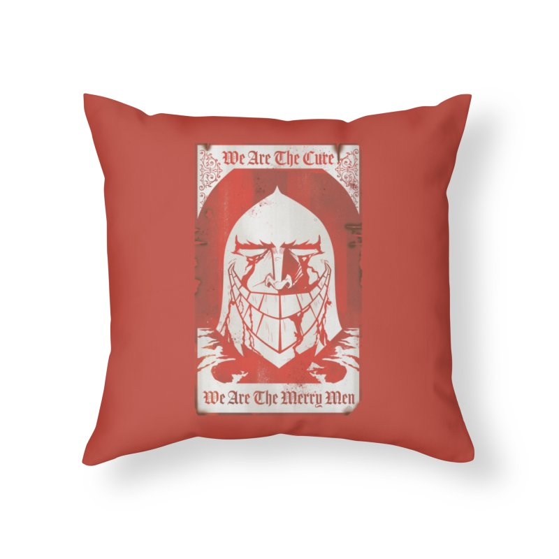 Nottingham Home Throw Pillow by Mad Cave Studios's Artist Shop