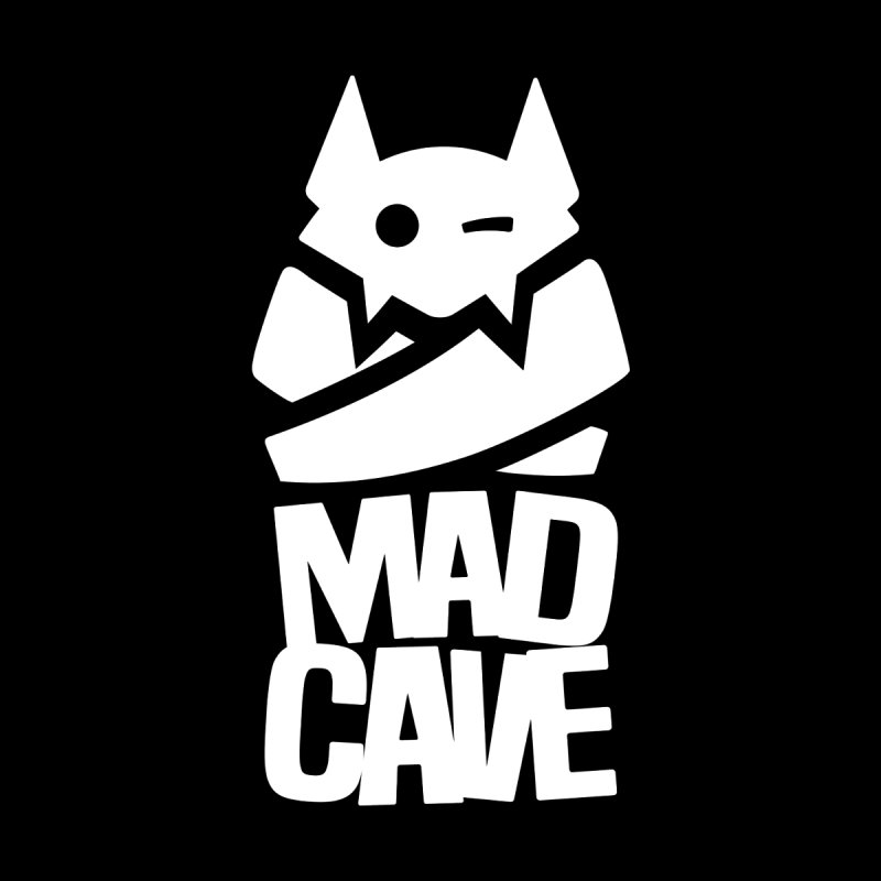 Mad Cave Logo White Women's Pullover Hoody by Mad Cave Studios's Artist Shop