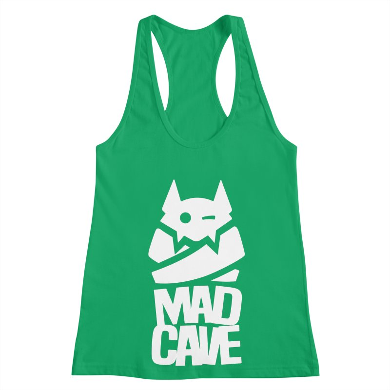 Mad Cave Logo White Women's Tank by Mad Cave Studios's Artist Shop