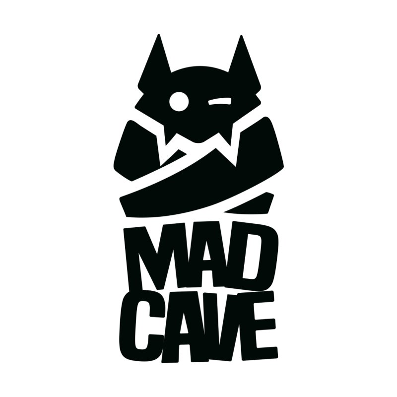 Mad Cave Logo Black by Mad Cave Studios's Artist Shop