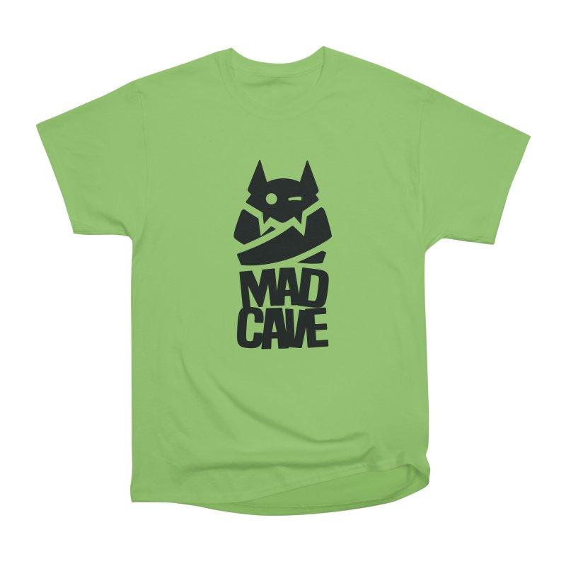 Mad Cave Logo Black Women's Heavyweight Unisex T-Shirt by MadCaveStudios's Artist Shop