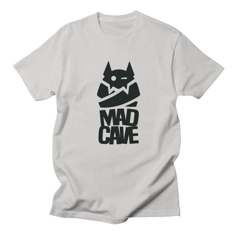 Mad Cave Logo Black Men's Regular T-Shirt by MadCaveStudios's Artist Shop