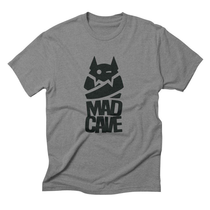 Mad Cave Logo Black Men's Triblend T-Shirt by MadCaveStudios's Artist Shop