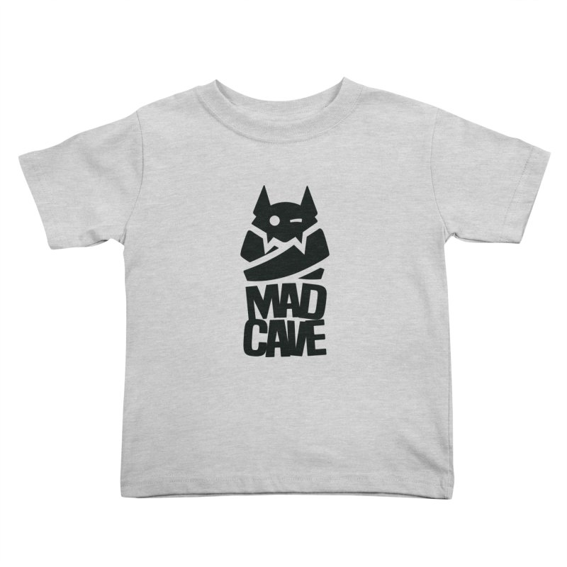 Mad Cave Logo Black Kids Toddler T-Shirt by Mad Cave Studios's Artist Shop