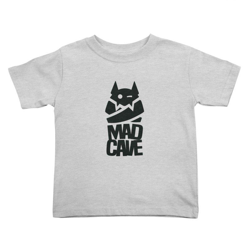 Mad Cave Logo Black Kids Toddler T-Shirt by MadCaveStudios's Artist Shop