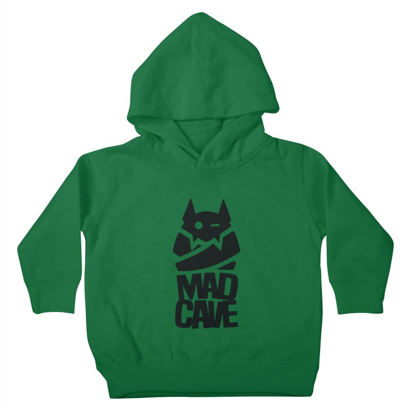 Mad Cave Logo Black Kids Toddler Pullover Hoody by Mad Cave Studios's Artist Shop