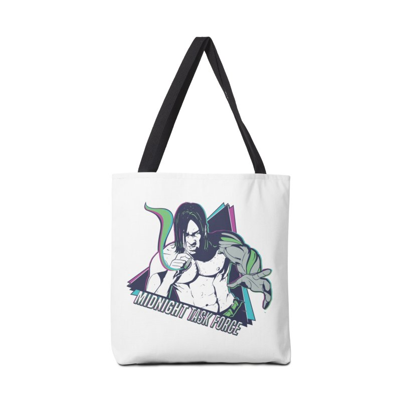 Aiden McCormick - Midnight Task Force Accessories Tote Bag Bag by Mad Cave Studios's Artist Shop