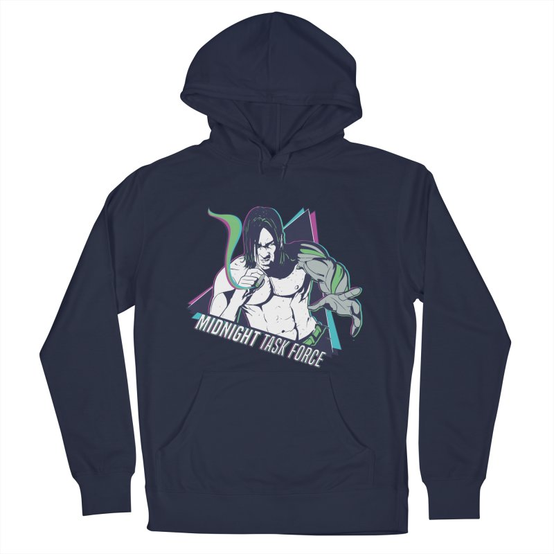 Aiden McCormick - Midnight Task Force Women's French Terry Pullover Hoody by MadCaveStudios's Artist Shop