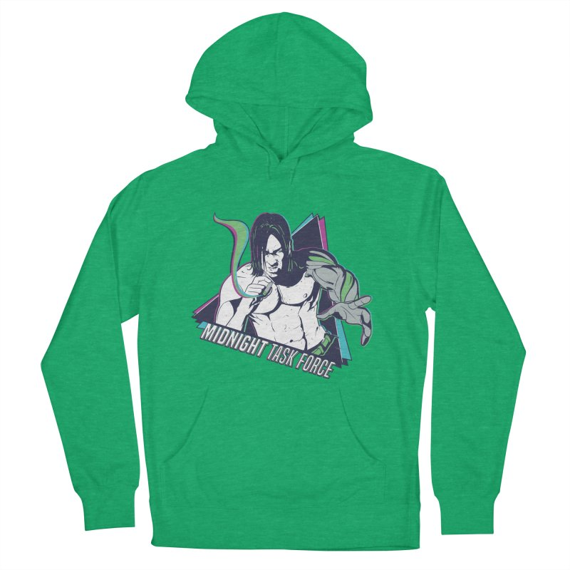 Aiden McCormick - Midnight Task Force Men's French Terry Pullover Hoody by Mad Cave Studios's Artist Shop