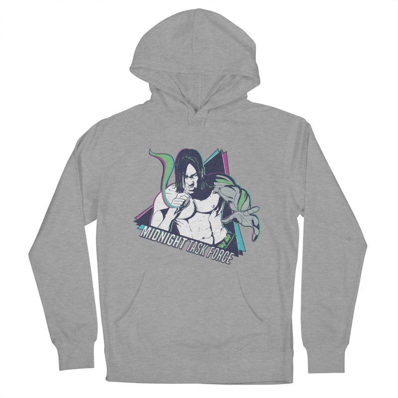 Aiden McCormick - Midnight Task Force Men's French Terry Pullover Hoody by MadCaveStudios's Artist Shop