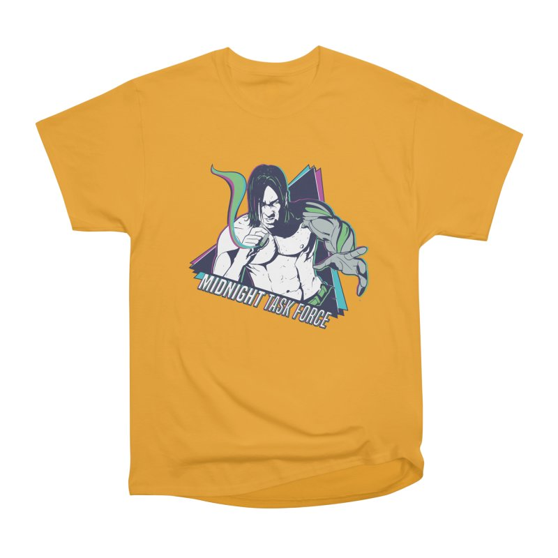 Aiden McCormick - Midnight Task Force Men's Heavyweight T-Shirt by Mad Cave Studios's Artist Shop