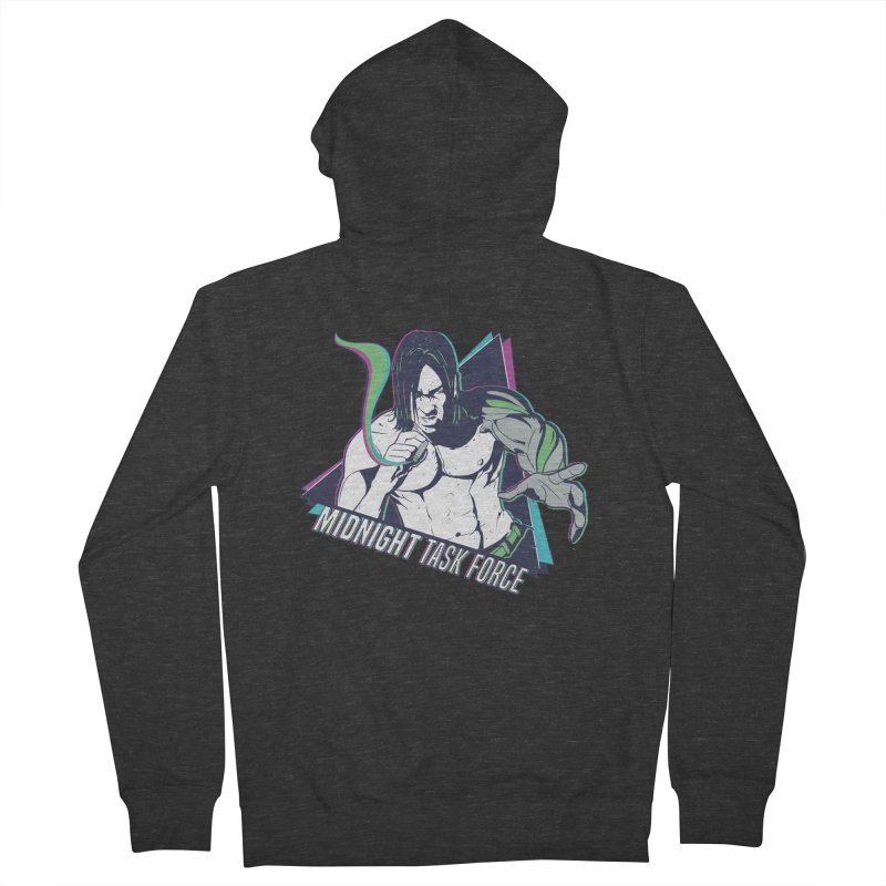 Aiden McCormick - Midnight Task Force Women's French Terry Zip-Up Hoody by Mad Cave Studios's Artist Shop