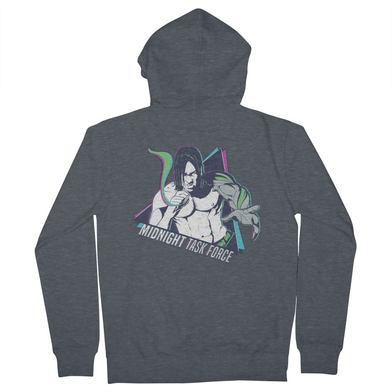 Aiden McCormick - Midnight Task Force Men's French Terry Zip-Up Hoody by Mad Cave Studios's Artist Shop