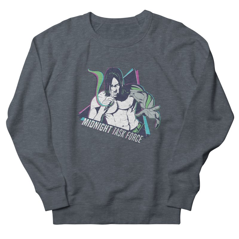 Aiden McCormick - Midnight Task Force Men's French Terry Sweatshirt by Mad Cave Studios's Artist Shop