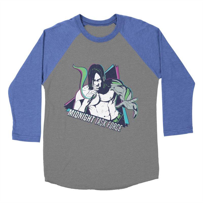 Aiden McCormick - Midnight Task Force Men's Baseball Triblend Longsleeve T-Shirt by MadCaveStudios's Artist Shop