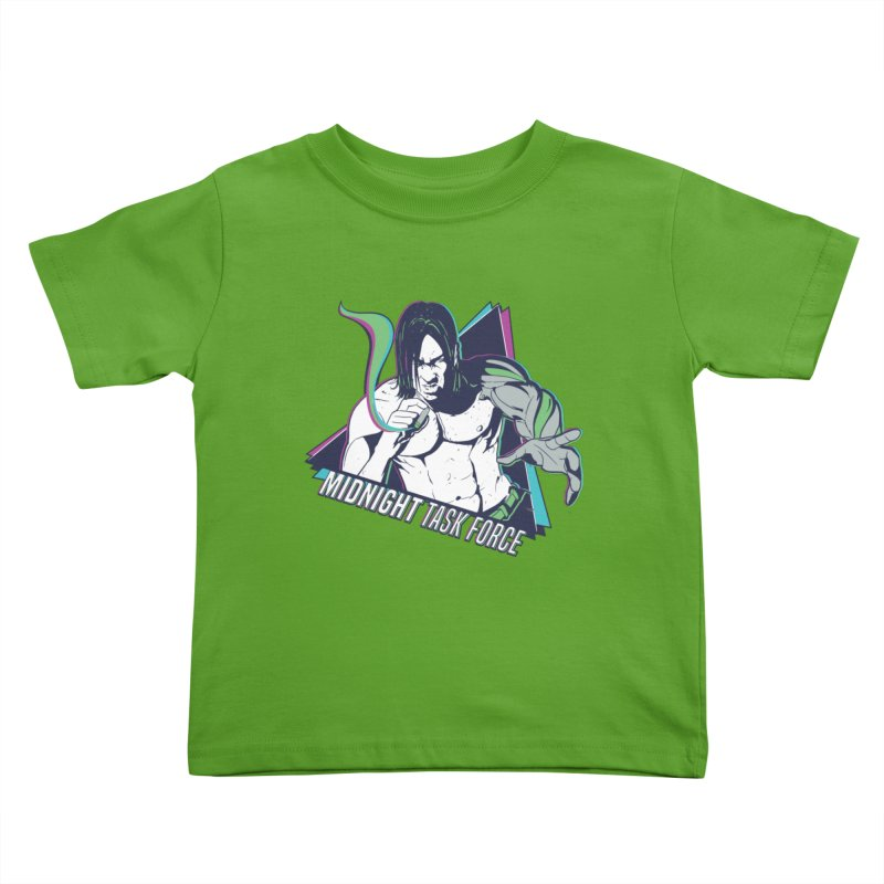 Aiden McCormick - Midnight Task Force Kids Toddler T-Shirt by Mad Cave Studios's Artist Shop
