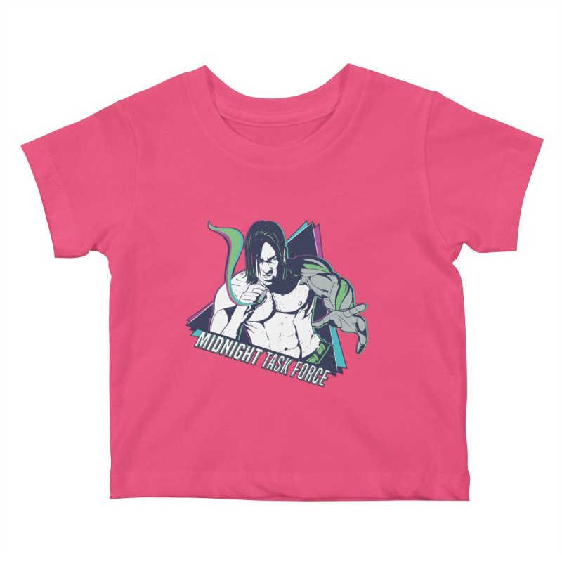 Aiden McCormick - Midnight Task Force Kids Baby T-Shirt by Mad Cave Studios's Artist Shop