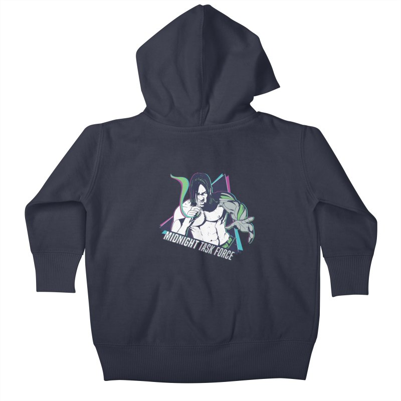 Aiden McCormick - Midnight Task Force Kids Baby Zip-Up Hoody by Mad Cave Studios's Artist Shop