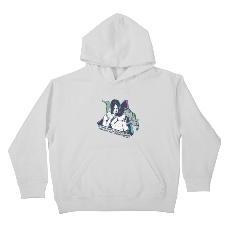 Aiden McCormick - Midnight Task Force Kids Pullover Hoody by MadCaveStudios's Artist Shop