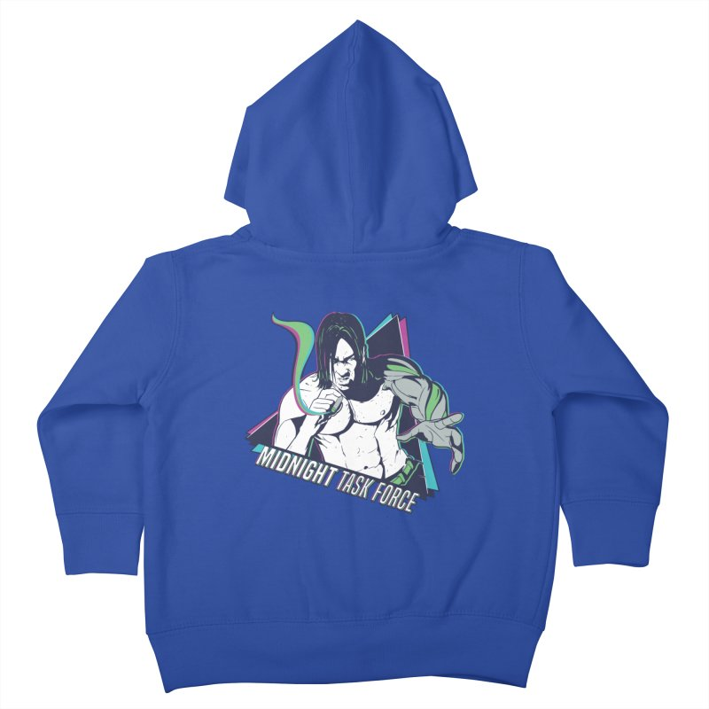 Aiden McCormick - Midnight Task Force Kids Toddler Zip-Up Hoody by Mad Cave Studios's Artist Shop