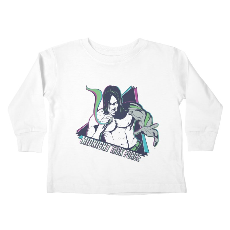 Aiden McCormick - Midnight Task Force Kids Toddler Longsleeve T-Shirt by Mad Cave Studios's Artist Shop