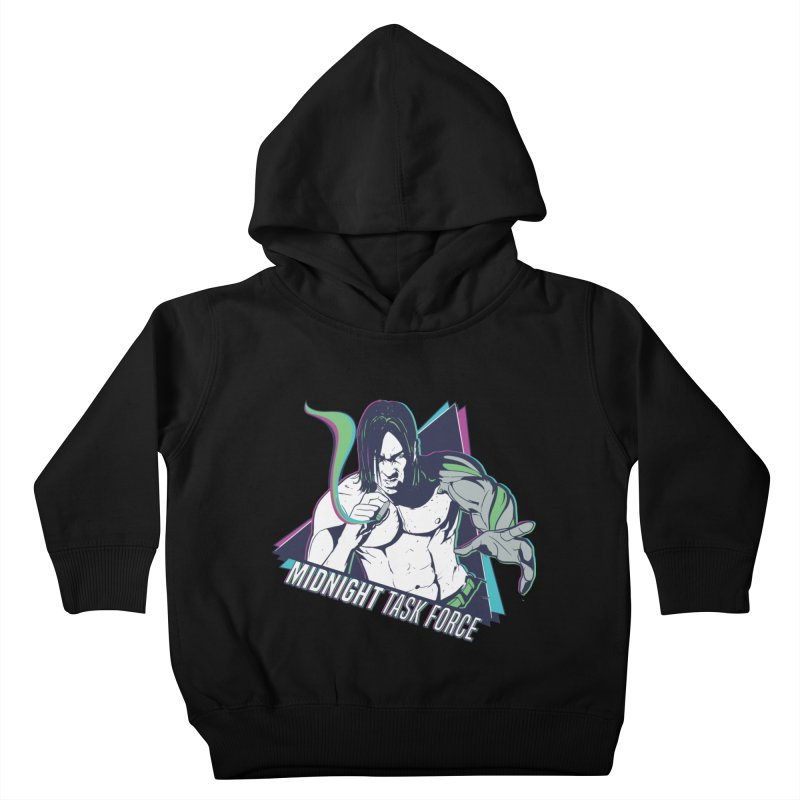 Aiden McCormick - Midnight Task Force Kids Toddler Pullover Hoody by MadCaveStudios's Artist Shop
