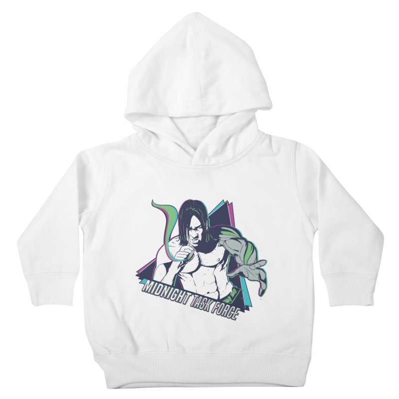 Aiden McCormick - Midnight Task Force Kids Toddler Pullover Hoody by Mad Cave Studios's Artist Shop